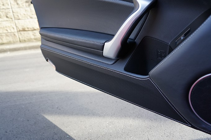 Revel 1TR5GDAT01S GT Design Kick Panel Cover with Silver Stitch Subaru BRZ | Scion FRS | Toyota GT-86 2013-2021