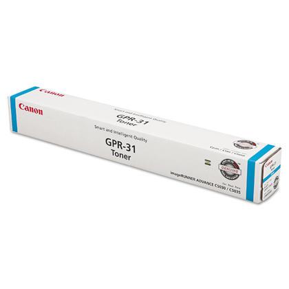 Canon GPR-31C 2794B003AA cartouche de toner originale cyan