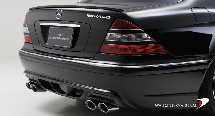 Wald International W220V3.ES.00 Version 3 Sport Exhaust System Mercedes S500 / S600 00-06