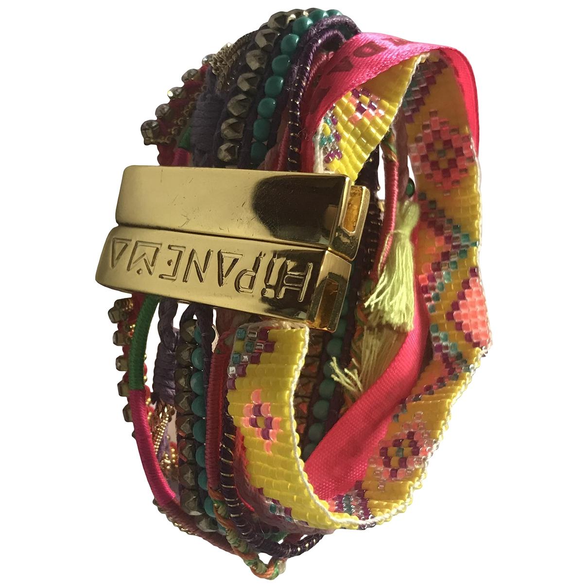 Hipanema \N Pink Metal bracelet for Women \N