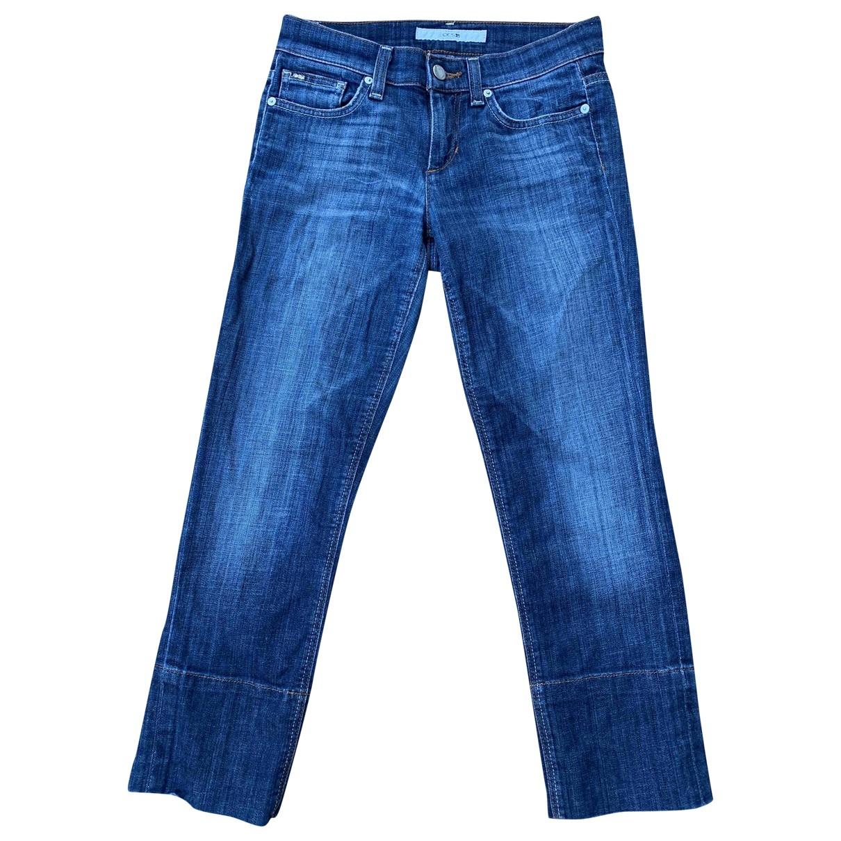 Joe's \N Blue Cotton - elasthane Jeans for Women 25 US