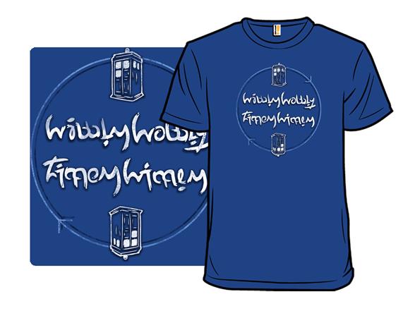 Wibbly Wobbly T Shirt