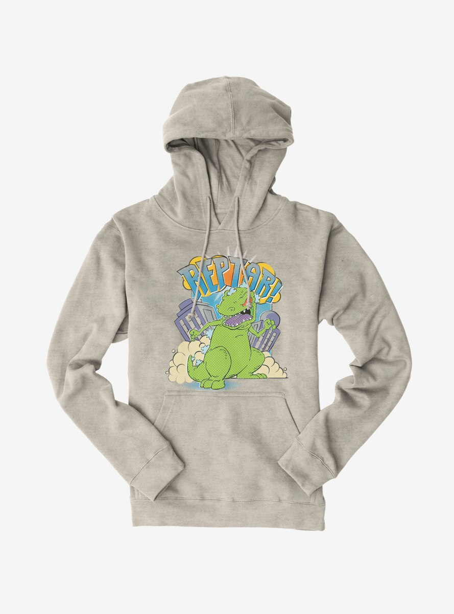 Rugrats Reptar In The City Hoodie