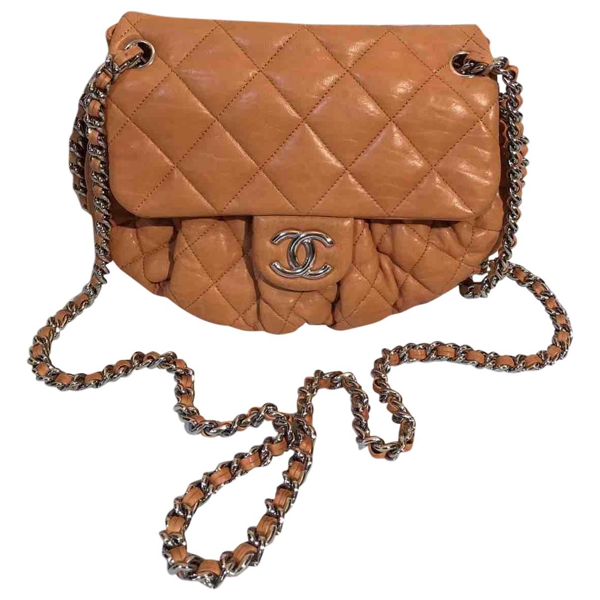 Chanel Chain Around Camel Leather handbag for Women \N