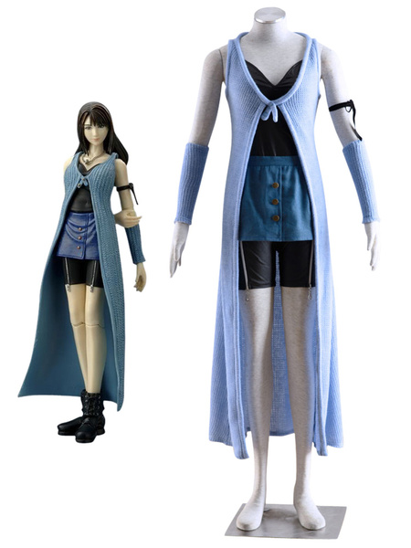 Milanoo Final Fantasy Rinoa Heartilly Halloween Cosplay Costume Halloween