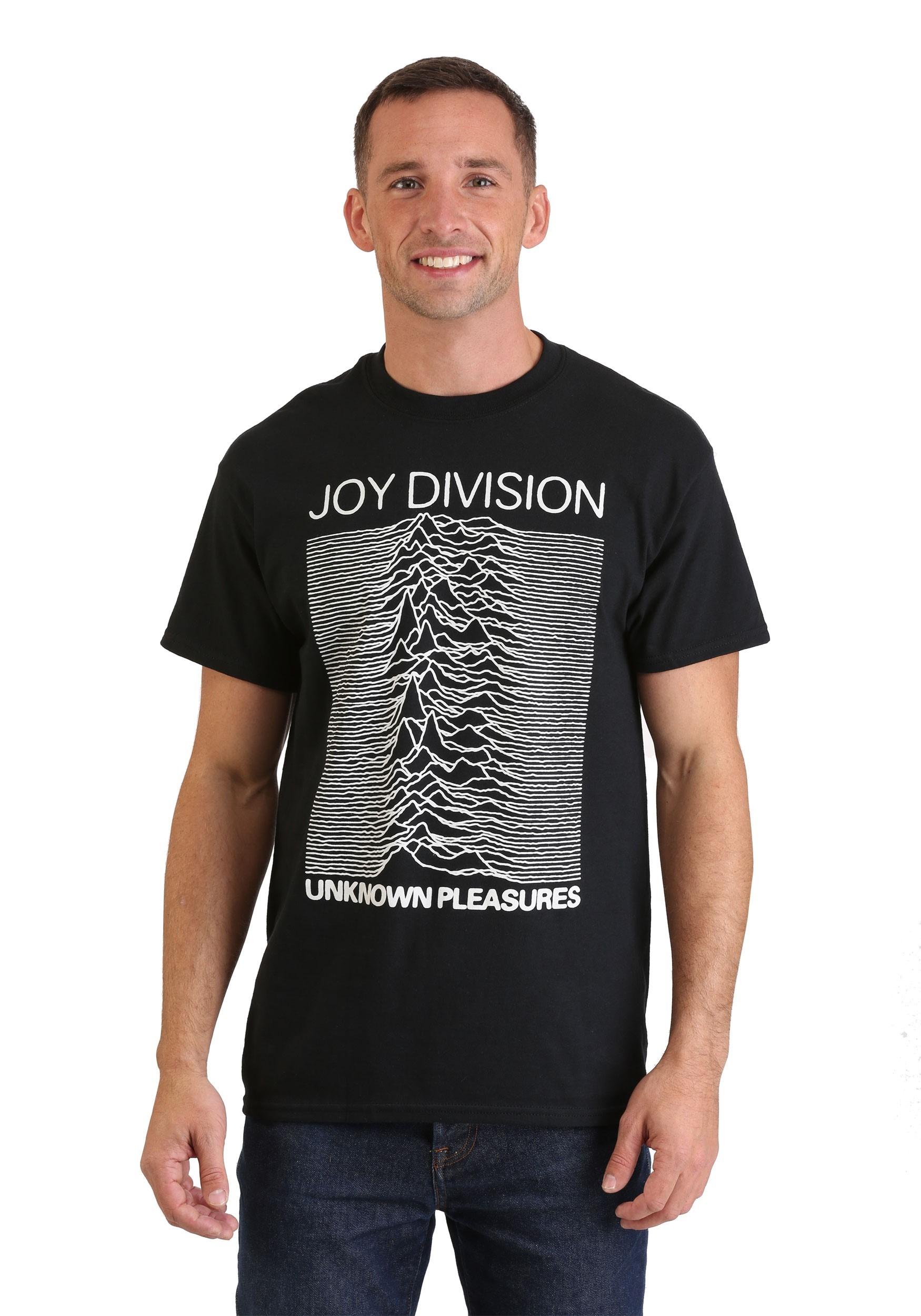 Joy Division Unknown Pleasures Black T-Shirt for Men