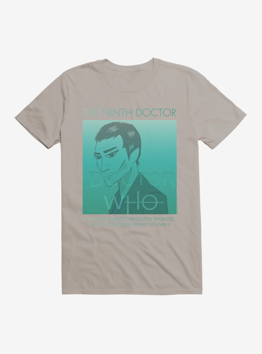 Doctor Who The Ninth Doctor T-Shirt
