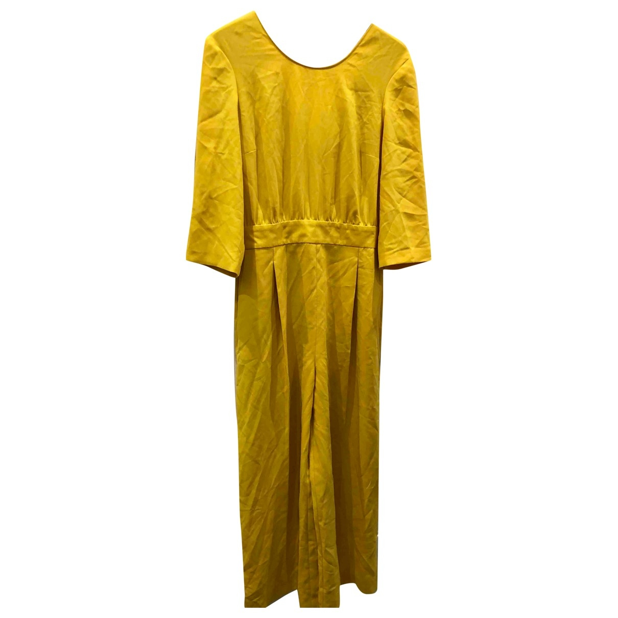 Max & Co \N Yellow jumpsuit for Women 44 IT