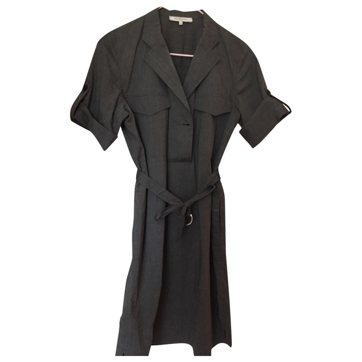 Gerard Darel \N Grey Cotton dress for Women 38 FR