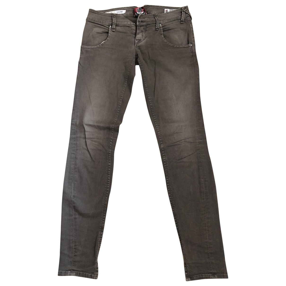 Cycle \N Brown Denim - Jeans Jeans for Women 26 US