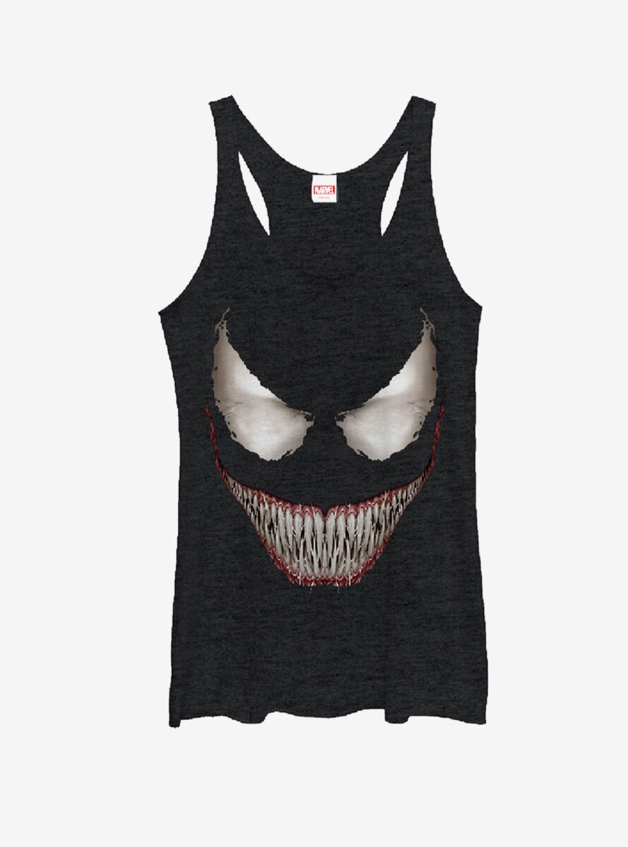 Marvel Venom Grin Womens Tank Top