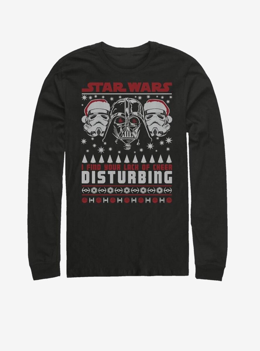 Star Wars Disturbing Sweater Long-Sleeve T-Shirt