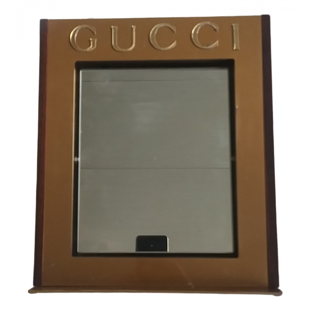 Gucci \N Gold Wood Home decor for Life & Living \N