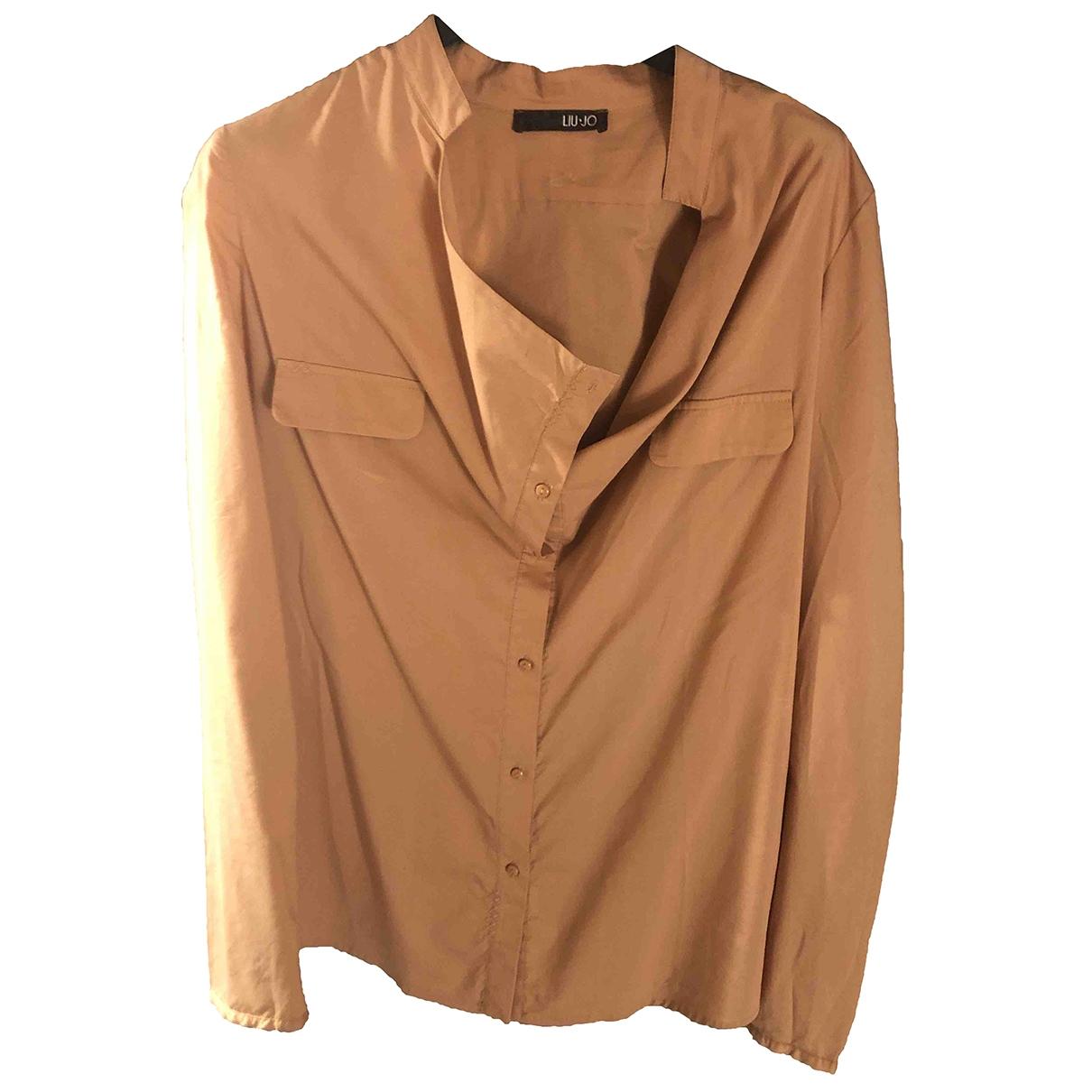 Liu.jo \N Pink Cotton  top for Women 42 IT