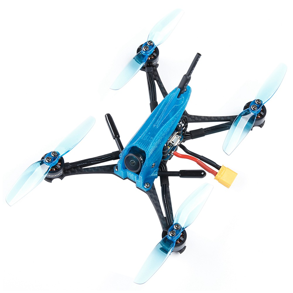 iFlight TurboBee 136RS 4S Toothpick FPV Racing RC Drone SucceX Micro F4 4IN1 12A Caddx Turbo Eos 2 Cam BNF - Frsky XM+ Receiver