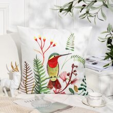 Plants Print Cushion Cover Without Filler