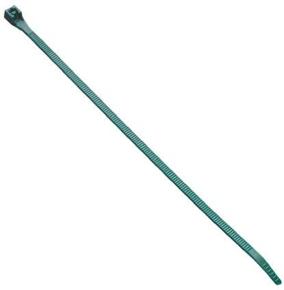 HellermannTyton , LR55 Series Green Nylon Cable Tie, 195mm x 4.7 mm