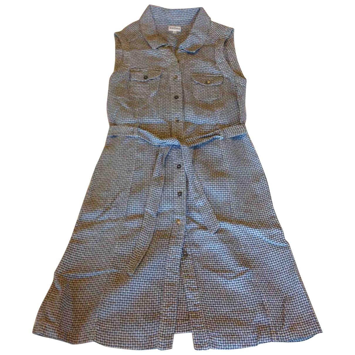 Brora \N Blue Linen dress for Women 10 UK