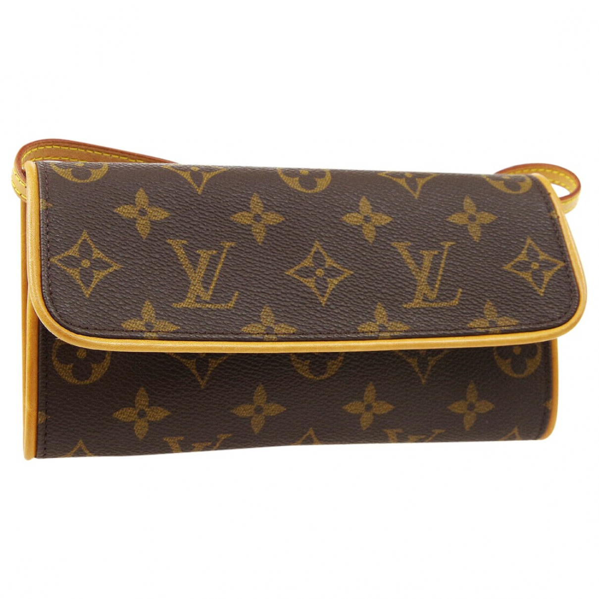 Louis Vuitton Twin Brown Cloth Clutch bag for Women \N