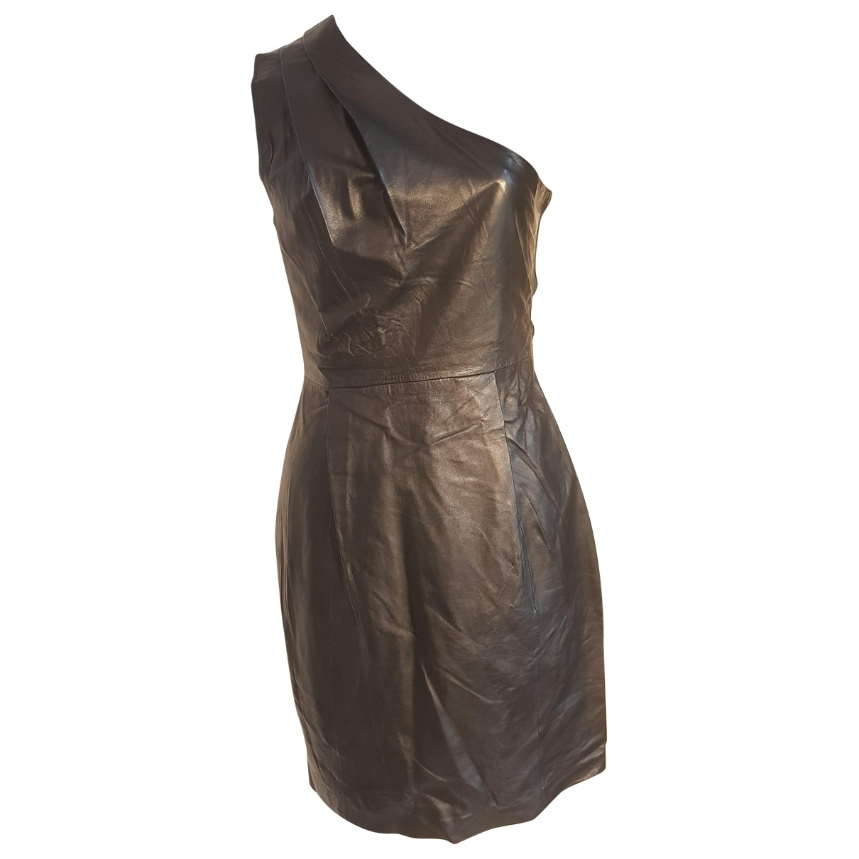 Jimmy Choo For H&m \N Black Leather dress for Women L International