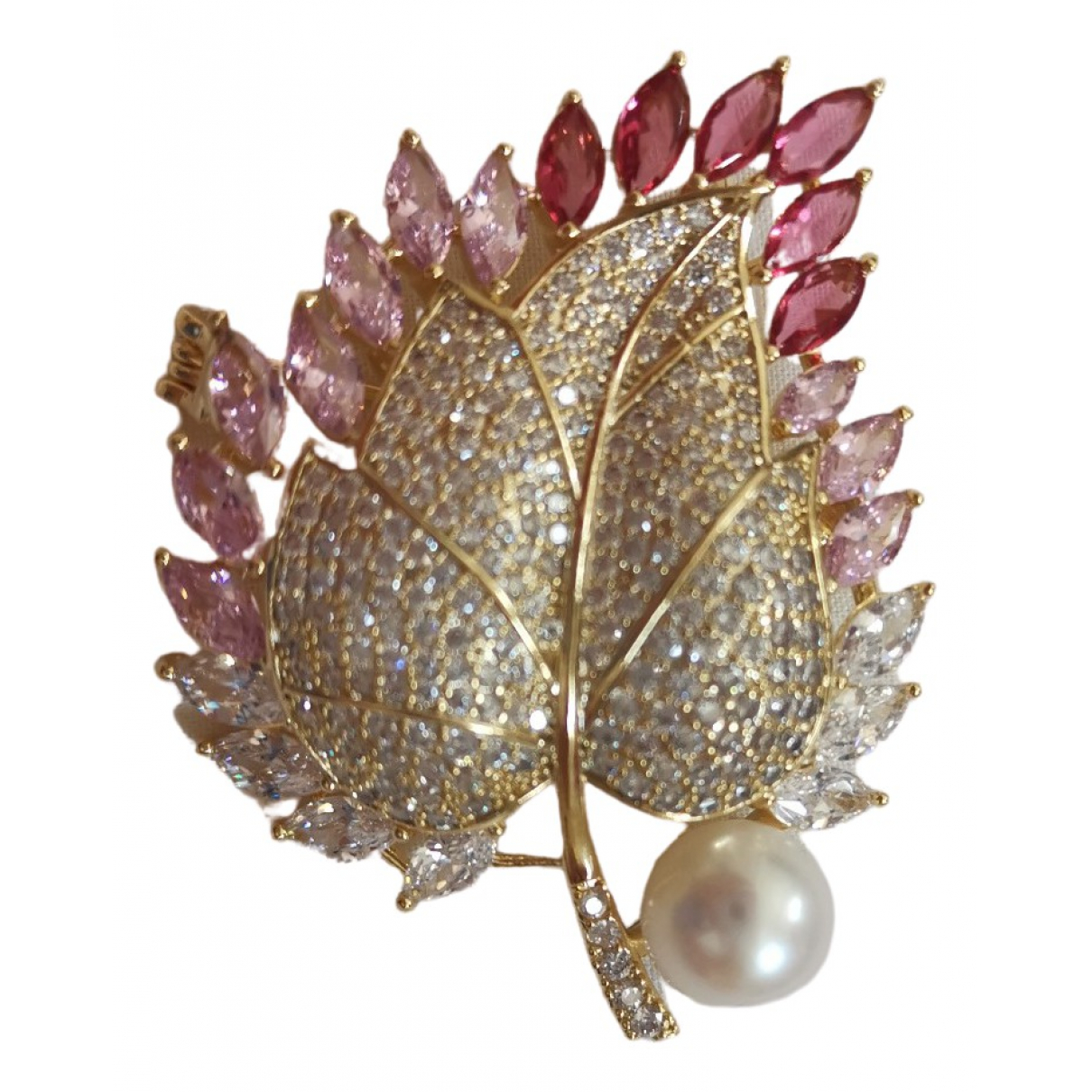 & Stories \N Multicolour Pearl Pins & brooches for Women \N