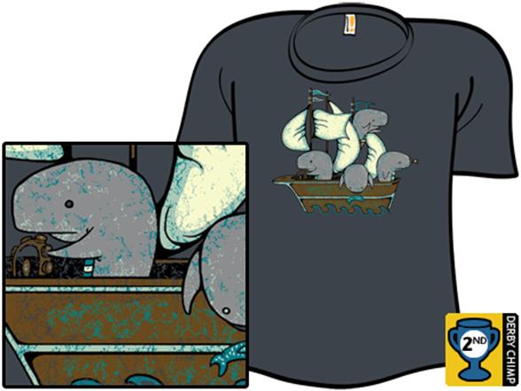 Sperm Whales Make Great Seamen T Shirt