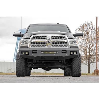 Rough Country Heavy Duty Front LED Bumper (Black) - 10785