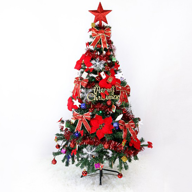 5 ft Christmas Tree Set with String Lights