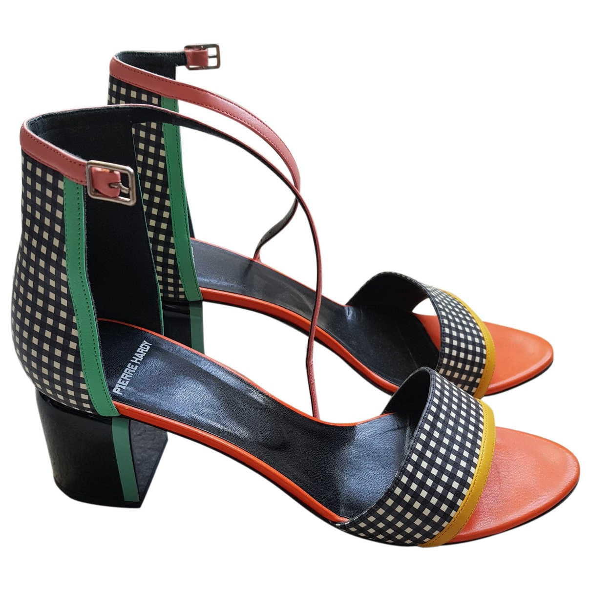 Pierre Hardy \N Multicolour Leather Sandals for Women 41 EU