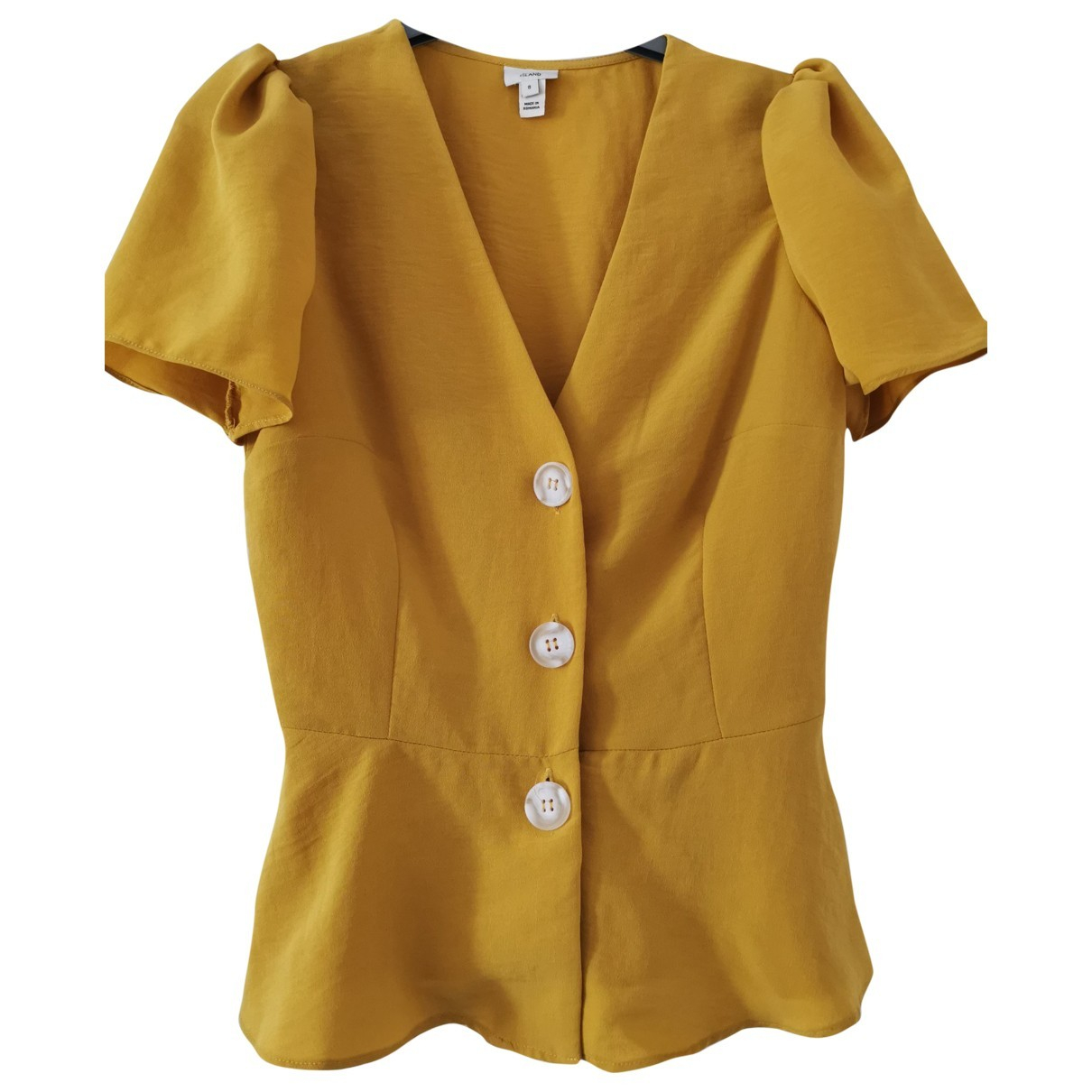 River Island \N Yellow  top for Women 8 UK
