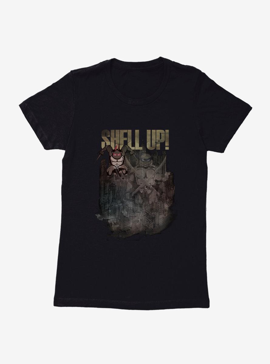 Teenage Mutant Ninja Turtles Shell Up Womens T-Shirt