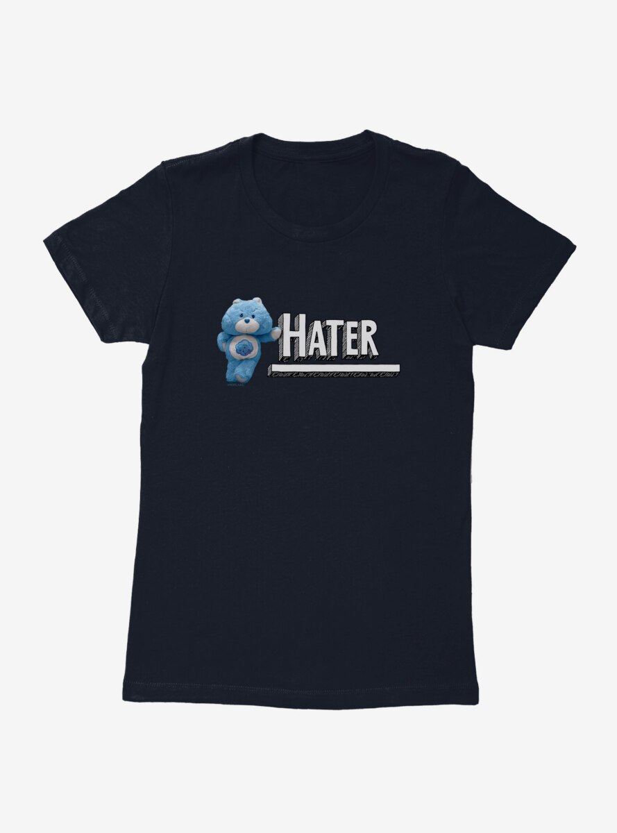 Care Bears Stuffed Grumpy Hater Womens T-Shirt