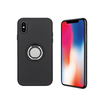 iPhone X Armor Protective Case with Ring Grip Stand - PrimeCables®