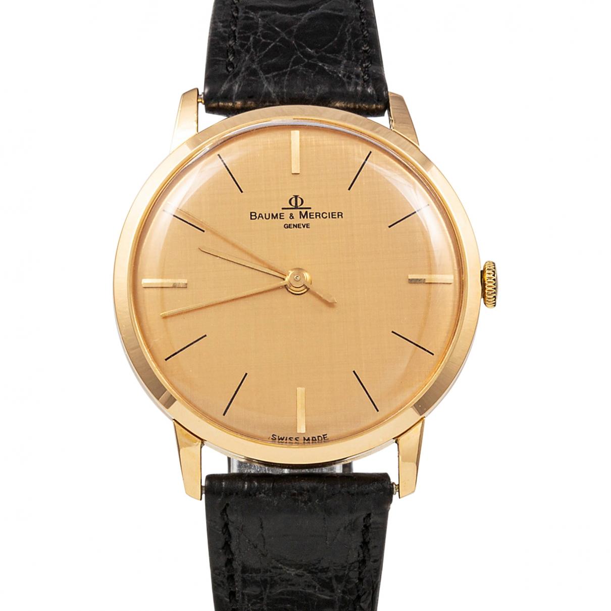Baume Et Mercier \N Yellow Yellow gold watch for Women \N
