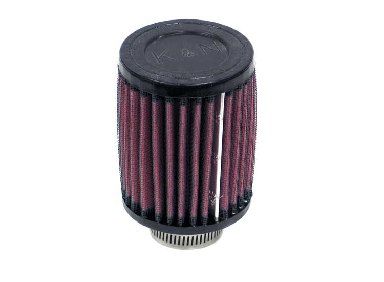 K&N RU-0070 Universal Clamp-On Air Filter Honda Moto -L --Cyl