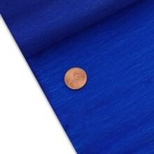 Dazzling Blue Economy Crepe Paper - 19-5/8 X 6-1/2' - Quantity: 10 - Wraps by Paper Mart