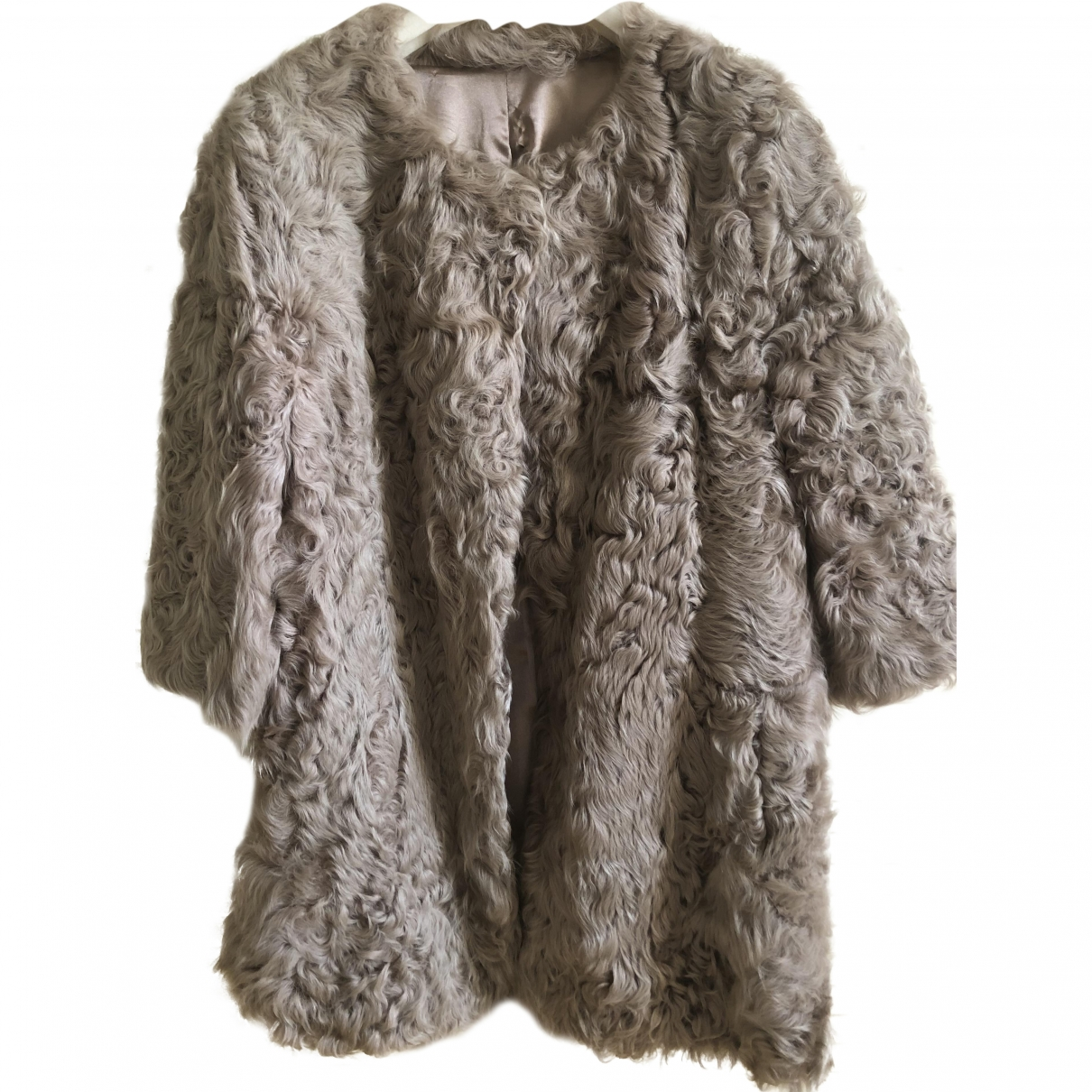 Cycle \N Beige Fur jacket for Women S International