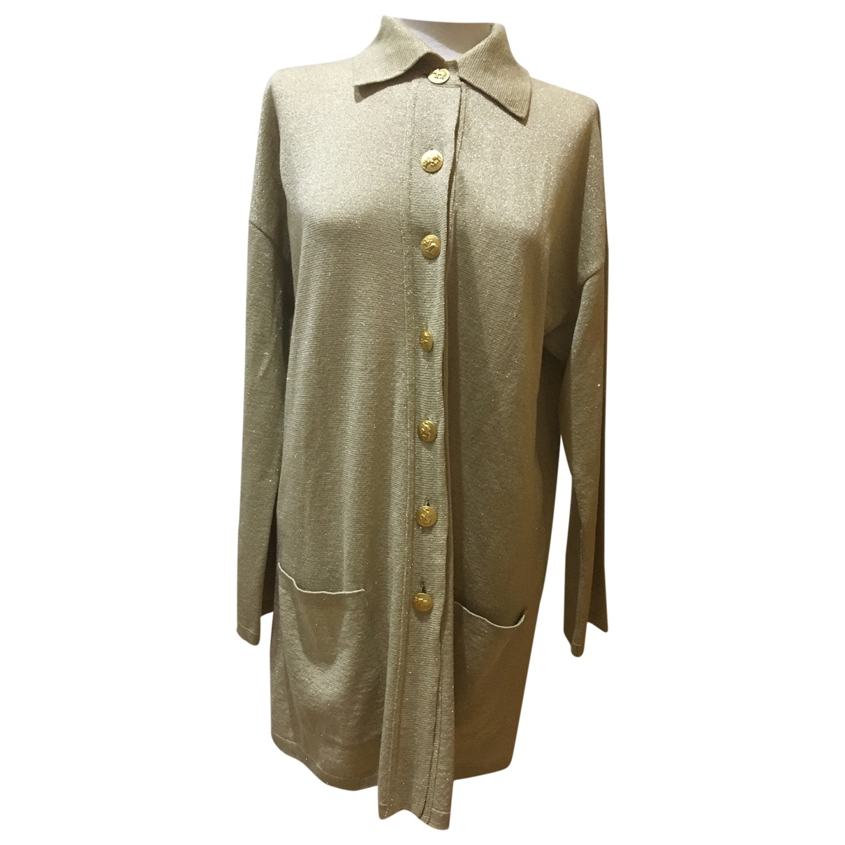 Non Signé / Unsigned \N Gold Wool Knitwear for Women L International