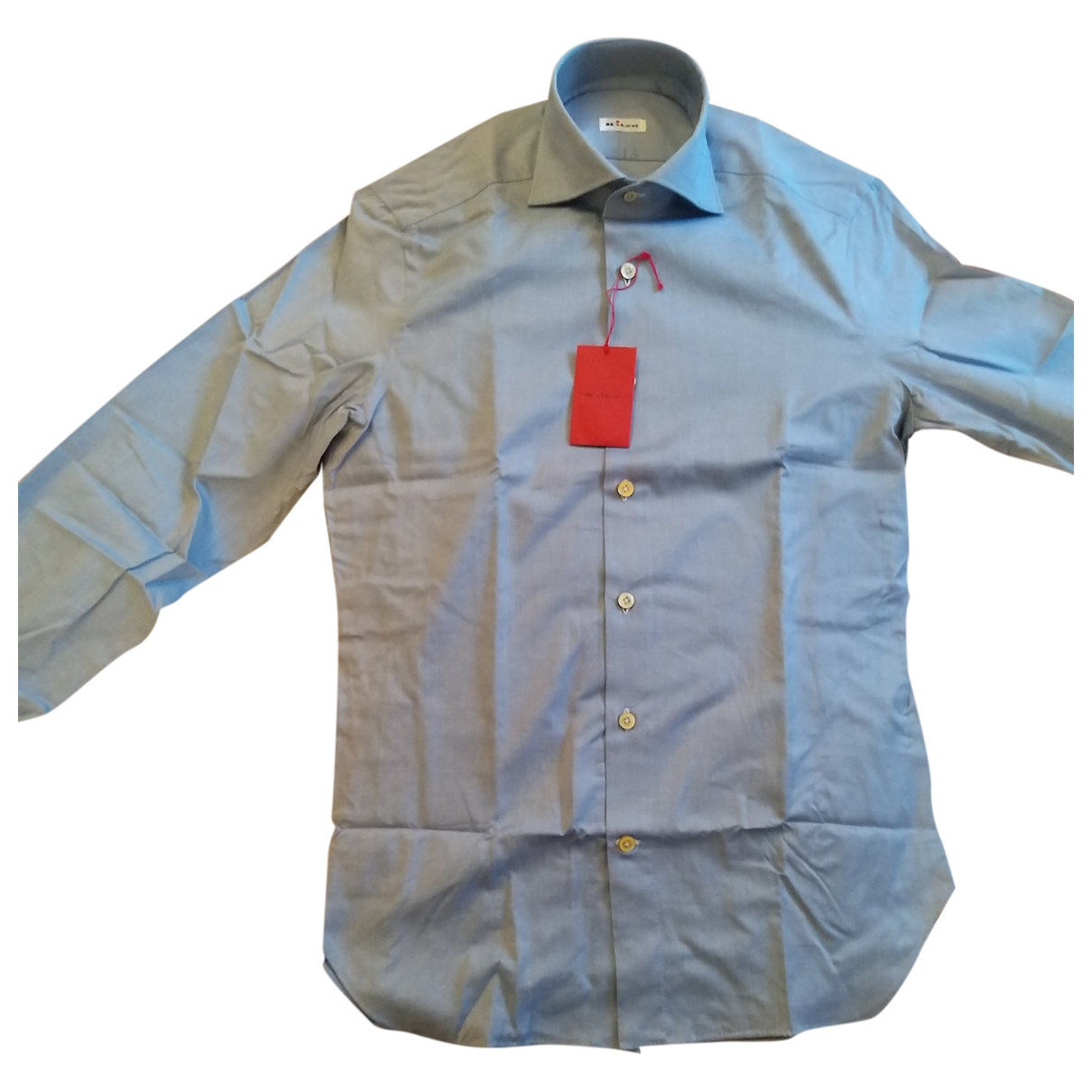 Kiton \N Cotton Shirts for Men 15.5 UK - US (tour de cou / collar)