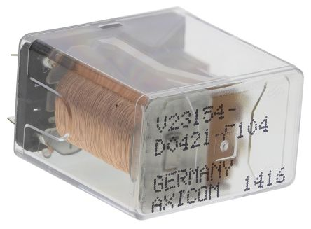 TE Connectivity , 24V dc Coil Non-Latching Relay DPDT, 5A Switching Current PCB Mount, 2 Pole