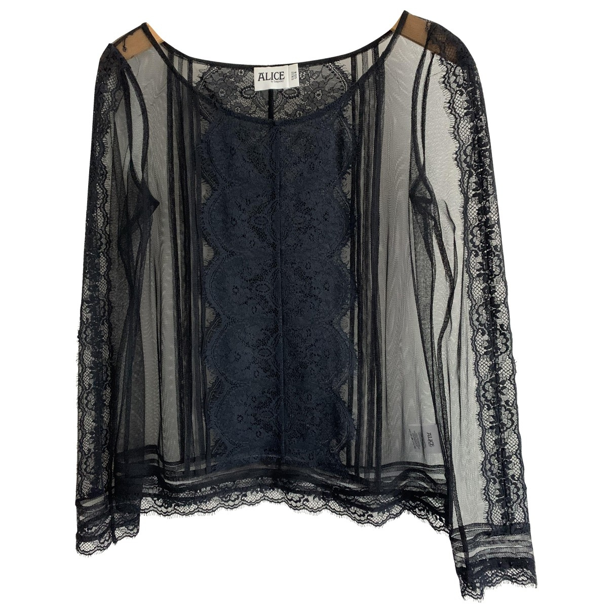 Alice By Temperley \N Black Lace  top for Women 12 UK