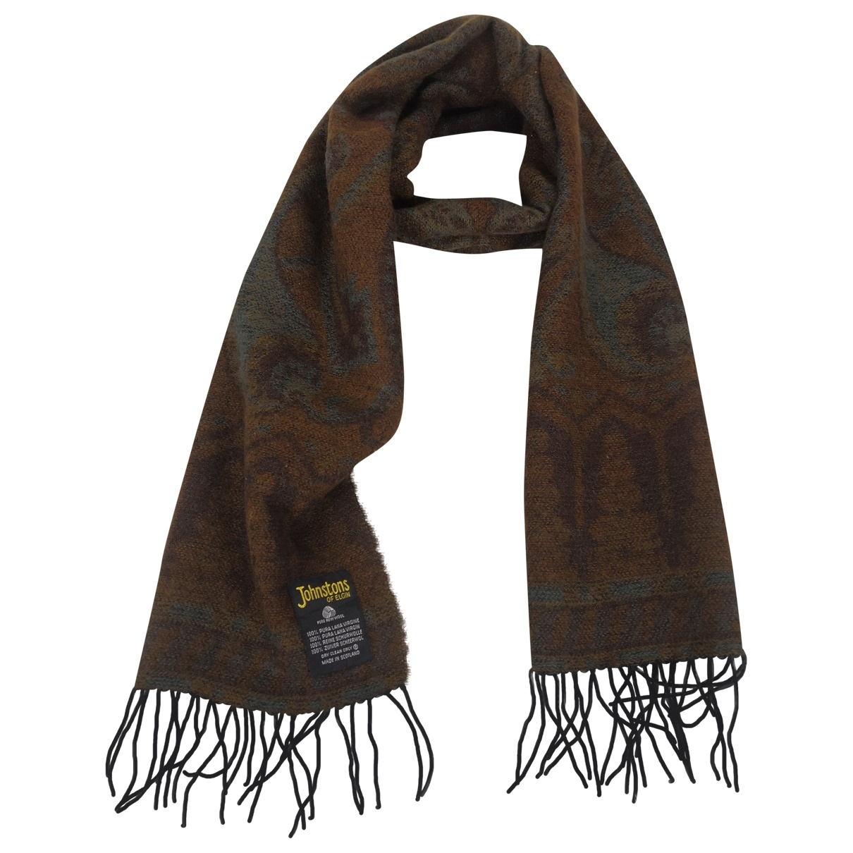 Non Signé / Unsigned \N Wool scarf & pocket squares for Men \N