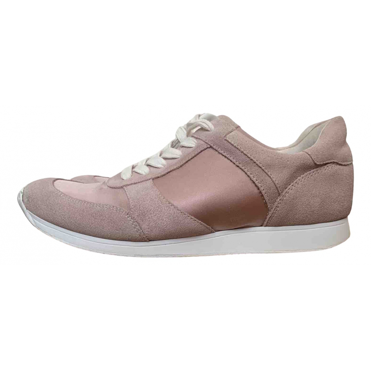 Vagabond \N Pink Suede Trainers for Women 37 EU
