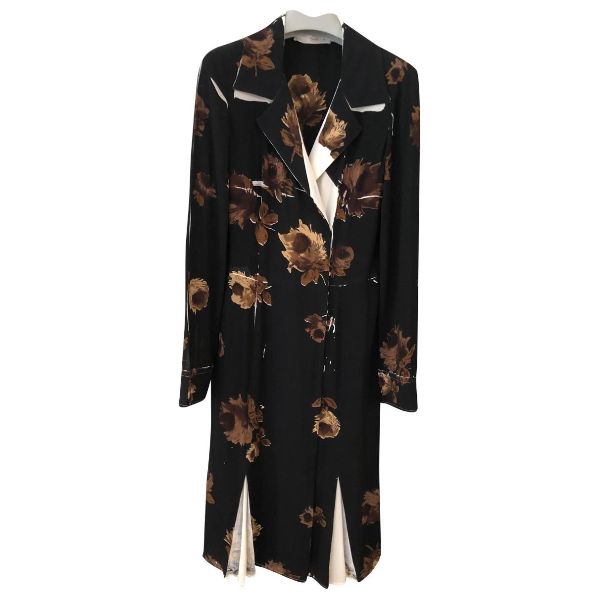 Prada \N Black Silk dress for Women 42 IT