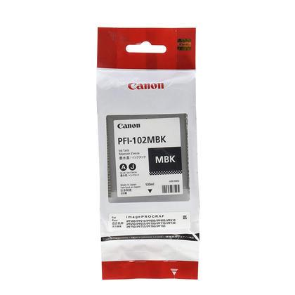Canon PFI-102MBK 0894B001 cartouche d'encre originale noire mat