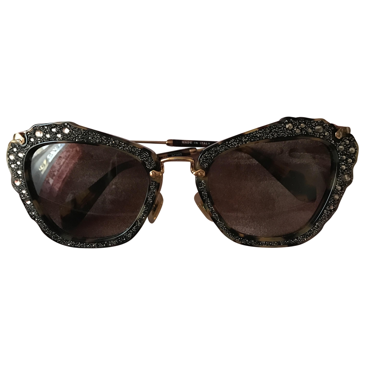 Miu Miu \N Gold Sunglasses for Women \N