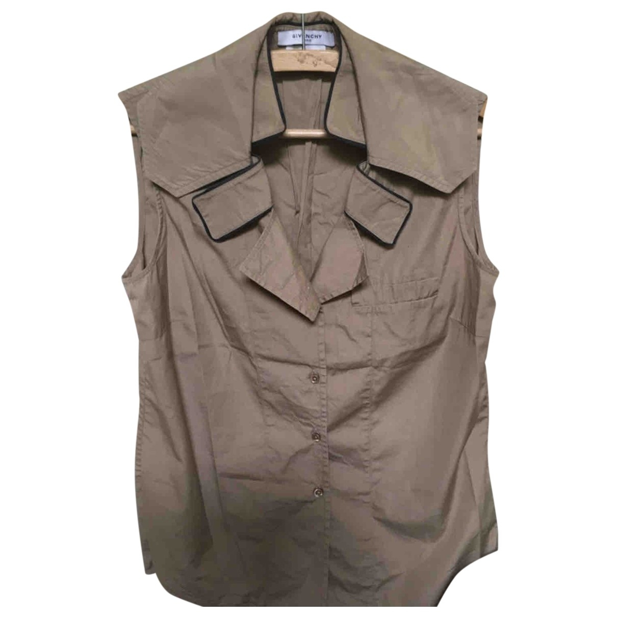 Givenchy \N Brown Cotton  top for Women 38 FR