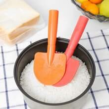 1pc Shovel Shaped Random Color Rice Spoon