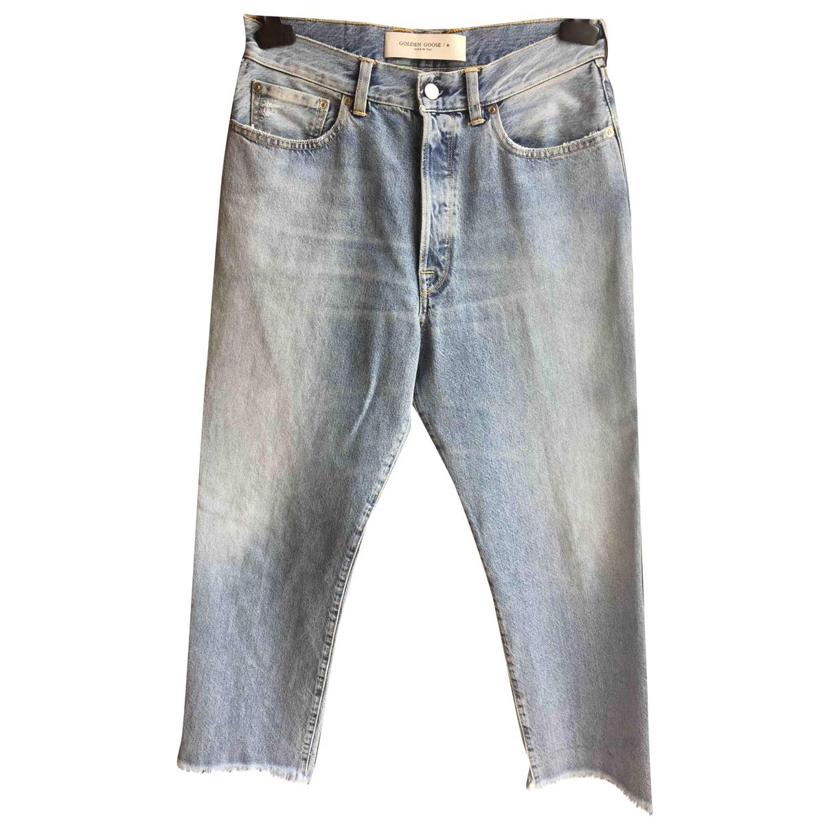Golden Goose \N Blue Denim - Jeans Jeans for Women 30 US