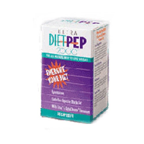 Diet Pep Ultra 2000 60 caps by Natural Balance (Formerly known as Trimedica)